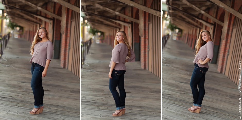 downtown Richmond, VA senior portraits